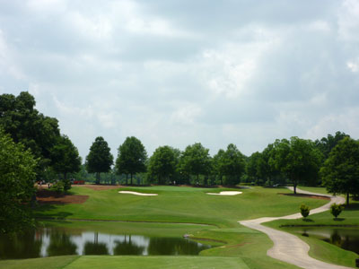 18th Hole at East Lake (232 Yard Par 3)
