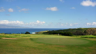 Kapalua Plantation 14th hole