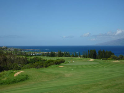 Kapalua Plantation 18th hole