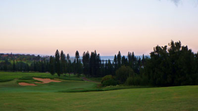 Kapalua Plantation 1st hole